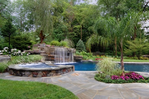 Unique Pools With Waterfalls
