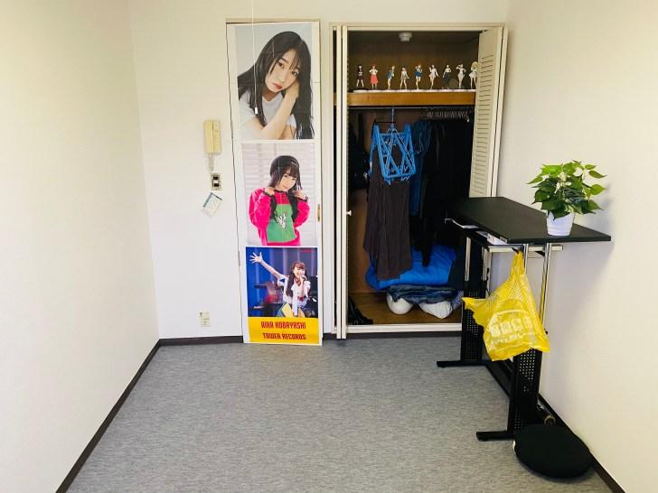 一人暮らしをする20代男性ミニマリストの部屋