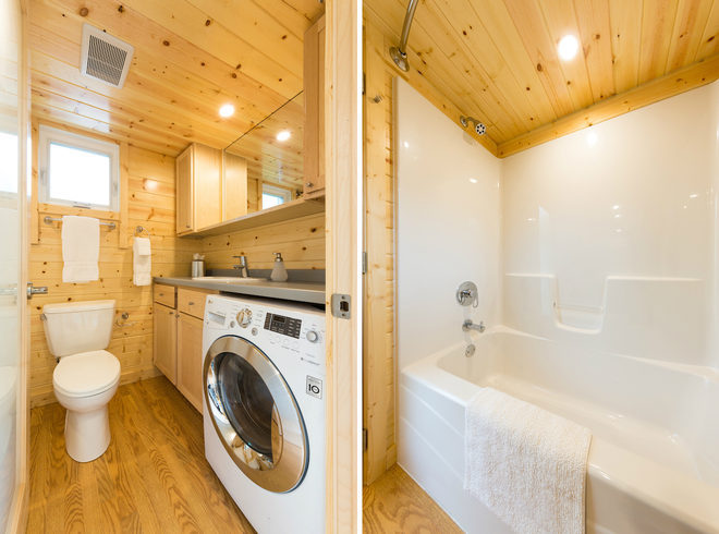 Escape Traveler Xl Tiny House With Full Size Appliances