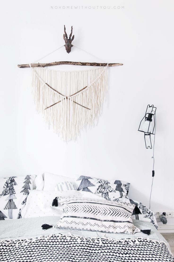 DIY Geschenke können richtig DELUXE sein. Auf minimalistmuss findet ihr eine ganze Sammlung dieser einzigartigen Selbstmachgeschenke. Hier DIY AZTEC WALL HANGING
