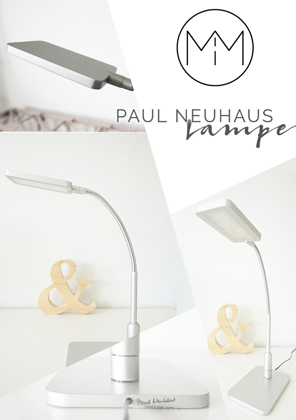 MInimalist design Table lamp by Paul Neuhaus