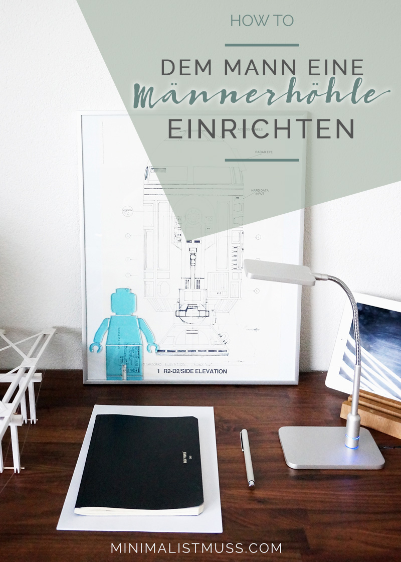 Kann Frau: Dem Mann die Männerhöhle einrichten? minimalistmuss.com