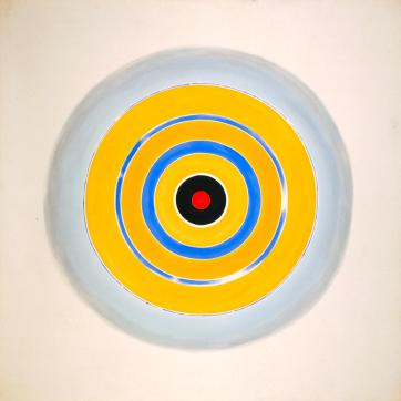 Drought 1962 by Kenneth Noland 1924-2010
