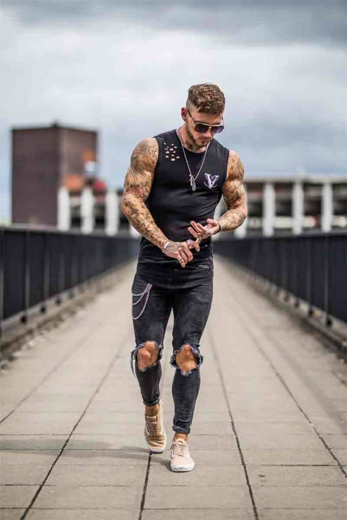 Bodybuilding Vest