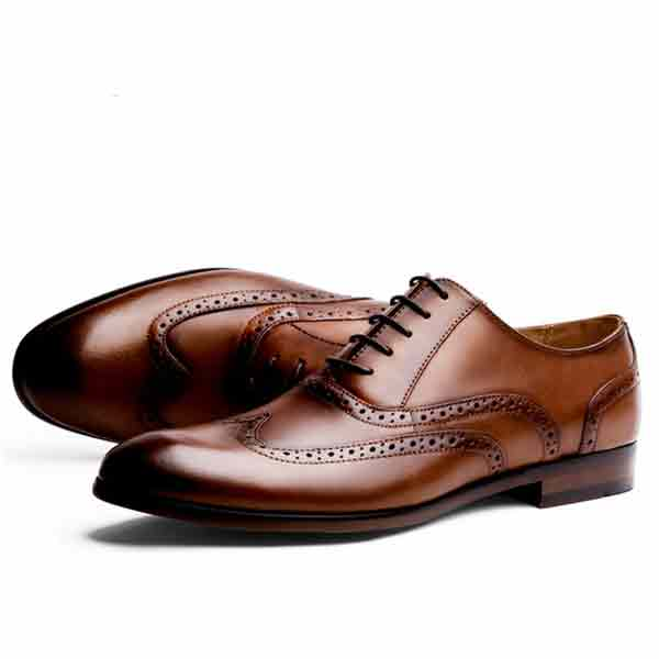 Full Grain Leather Men Oxford Shoes