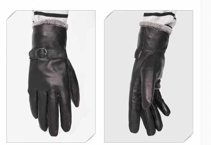 Gloves men Leather 5