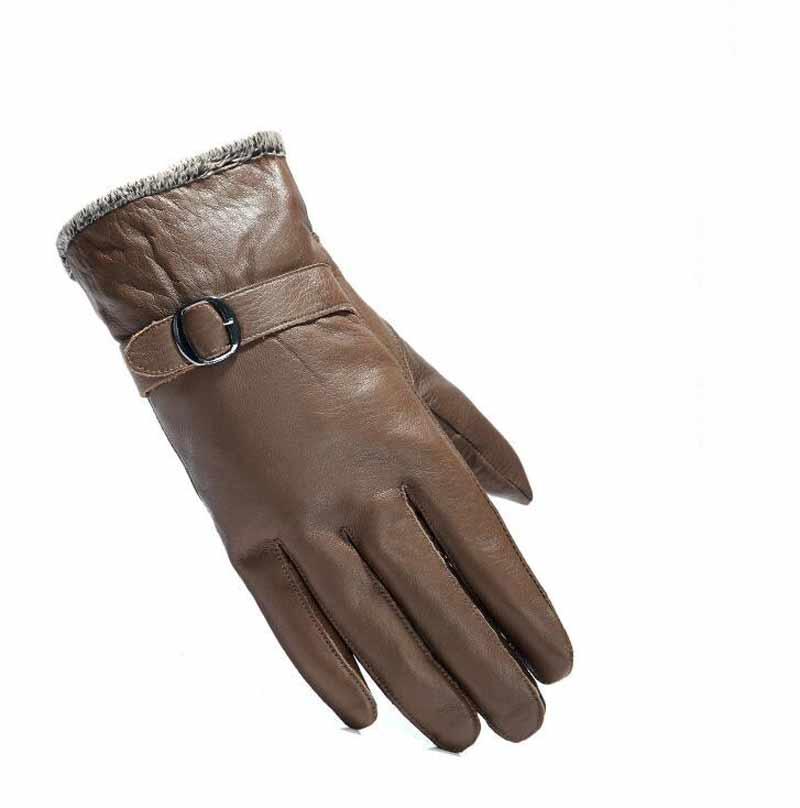 Gloves men Leather 6