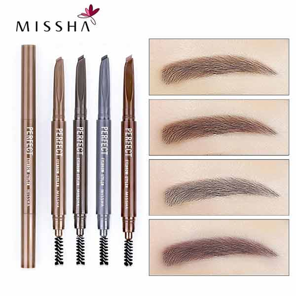 Korea MISSHA Eyebrow Pencil Waterproof 4 colors ...