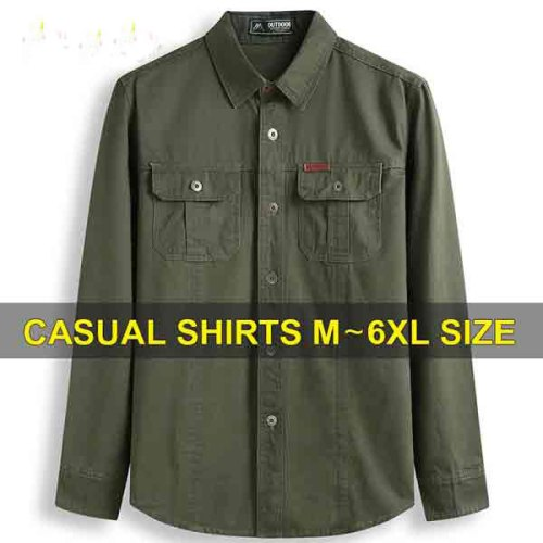 Man Army Long Sleeve Shirt