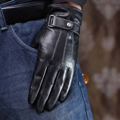 Mens Gloves High Quality Genuine Leather
