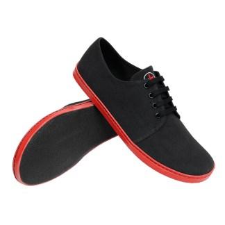 Mínimas negras rojas