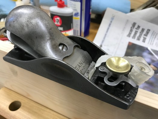 Stanley No. 18 block plane