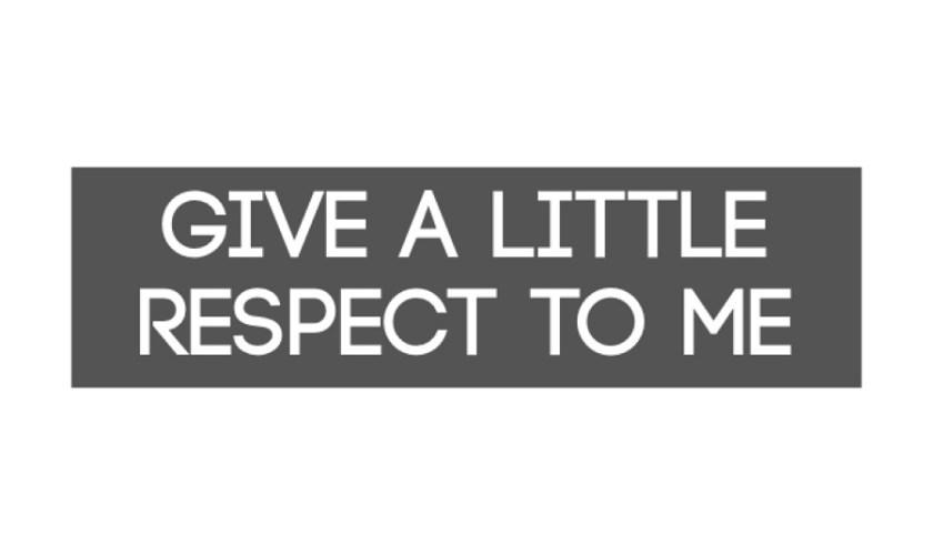 Ein Plädoyer für mehr Akzeptanz und Respekt…