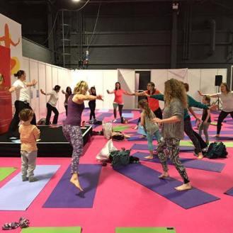 Mini Me Yoga Conference