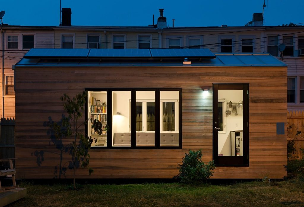 Micro House tiny house infographic Buy Plans