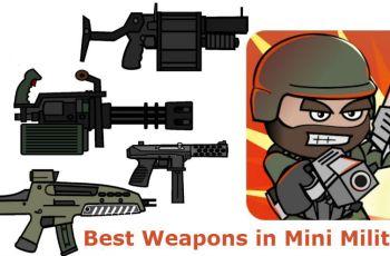 Best Weapons in Mini Militia