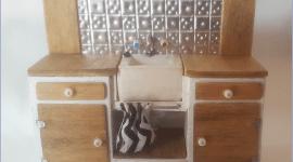Miniature Kitchen Sink Unit by Melissa