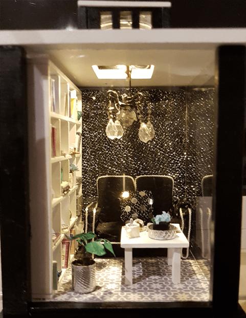 miniature lantern kit front