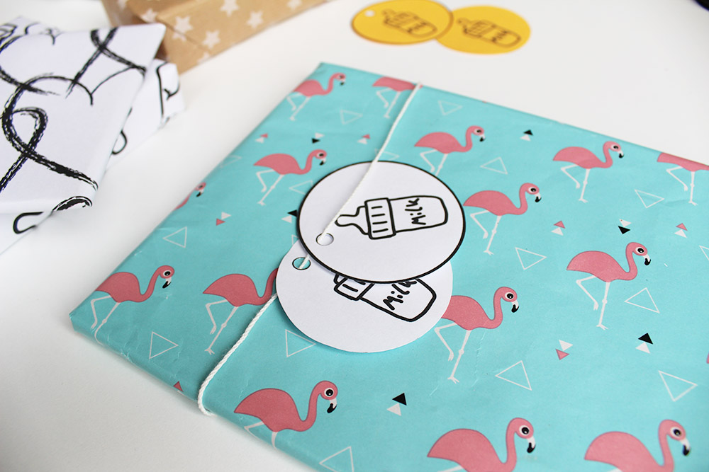 printable cadeau labels milk print bij flamingo papier