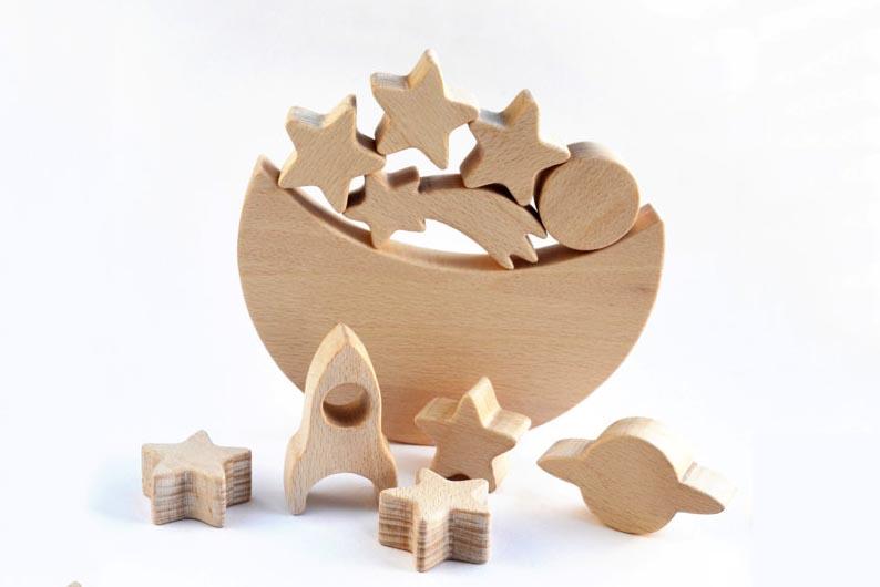 houten balanceerspel