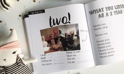 bewaarboek-invulboek zwart wit kinderjaren milestones bijhouden