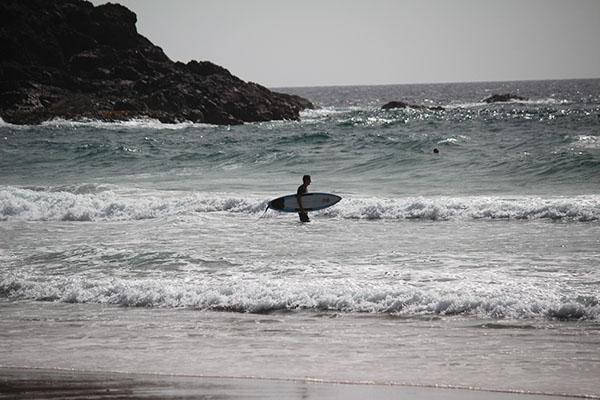 fuerteventura met kids surfen