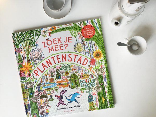kinderboek zoek je mee plantenstad