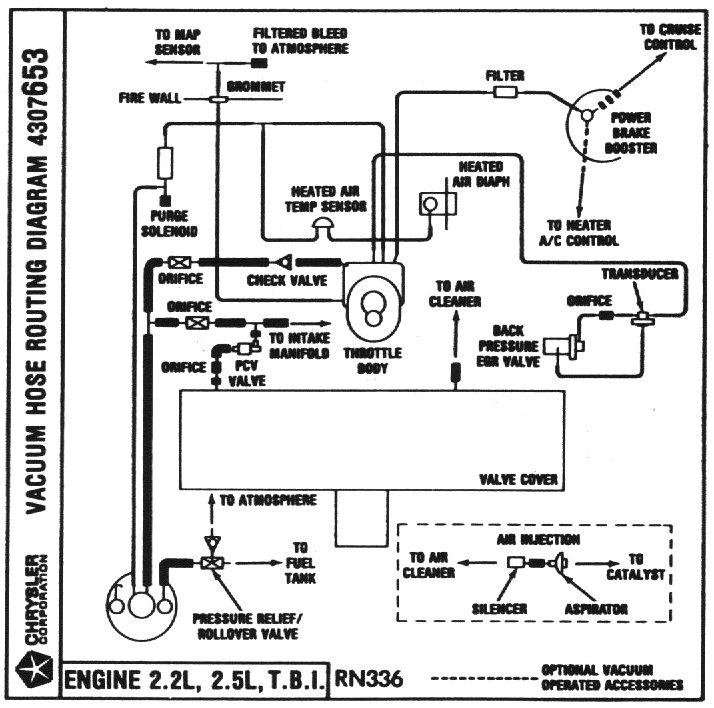 02 Chrysler Pt Cruiser Vacuum Diagram. Chrysler. Auto