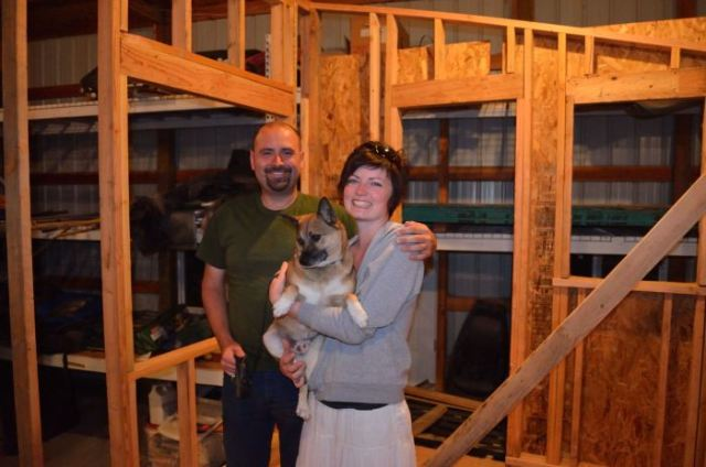 And hey, I even got to meet fellow tiny house star Jonathan (Gungy) and his pup Barney!