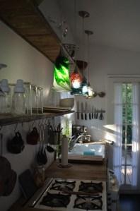 My open storage in the kitchen
