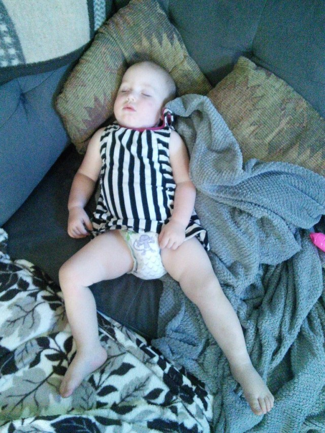 the little ref fell asleep...