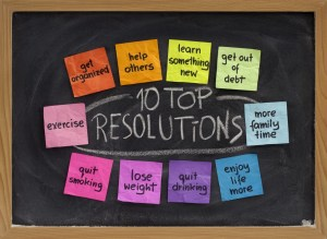 10 top new year resolutions