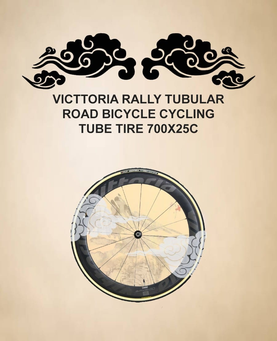 VITTORIA Rally Tubular Road Bicycle Cycling Tube Tire 700X25C (1)