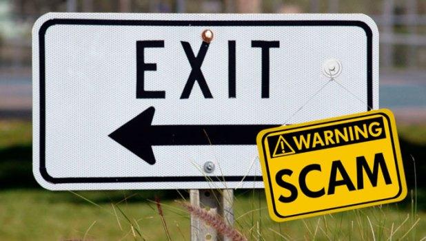 Экзит-скам(exit scam)