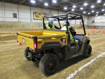 Cat for the first time introduces utility vehicles