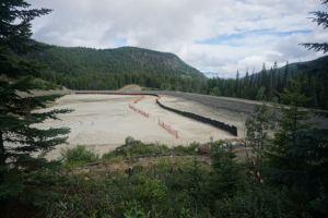 tailings dam