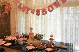 【懷孕】第一次在家辦趴就上手:準媽媽生產前派對,迷你妮的Baby Shower