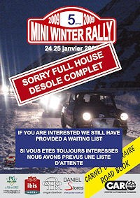 Mini Winter Rally 2009