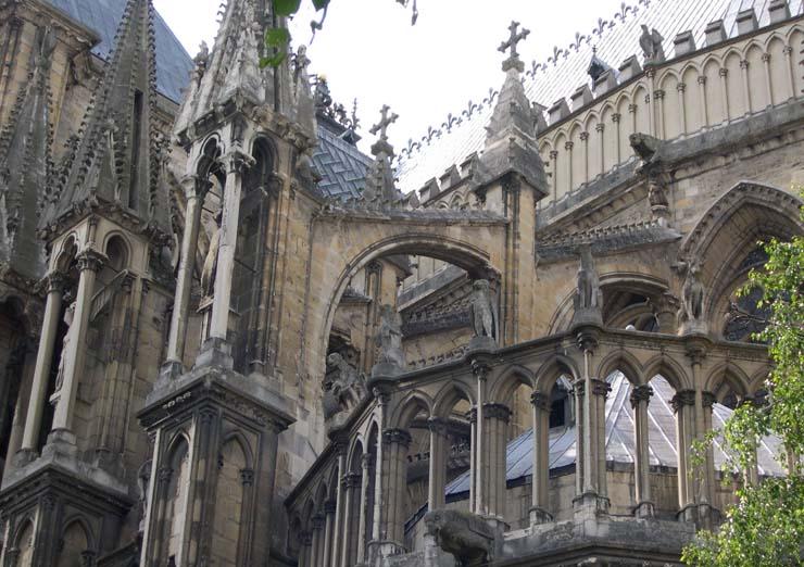 La cathdrale de Reims