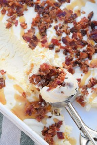 Maple Bacon Ice Cream - Mini Pie Kitchen