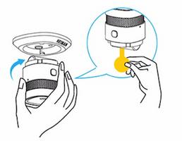 Smart Mini Rookmelder installatie tekening 1