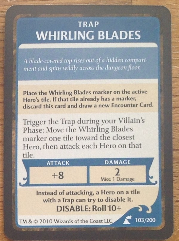 Whirling Blades, Wrath of Ashardalon