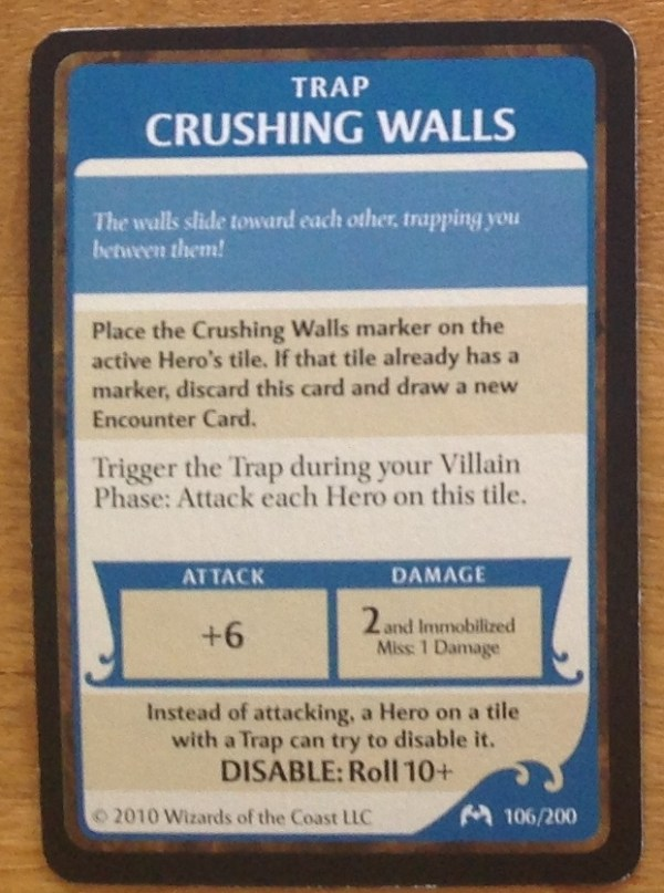 Crushing Walls, Castle Ravenloft
