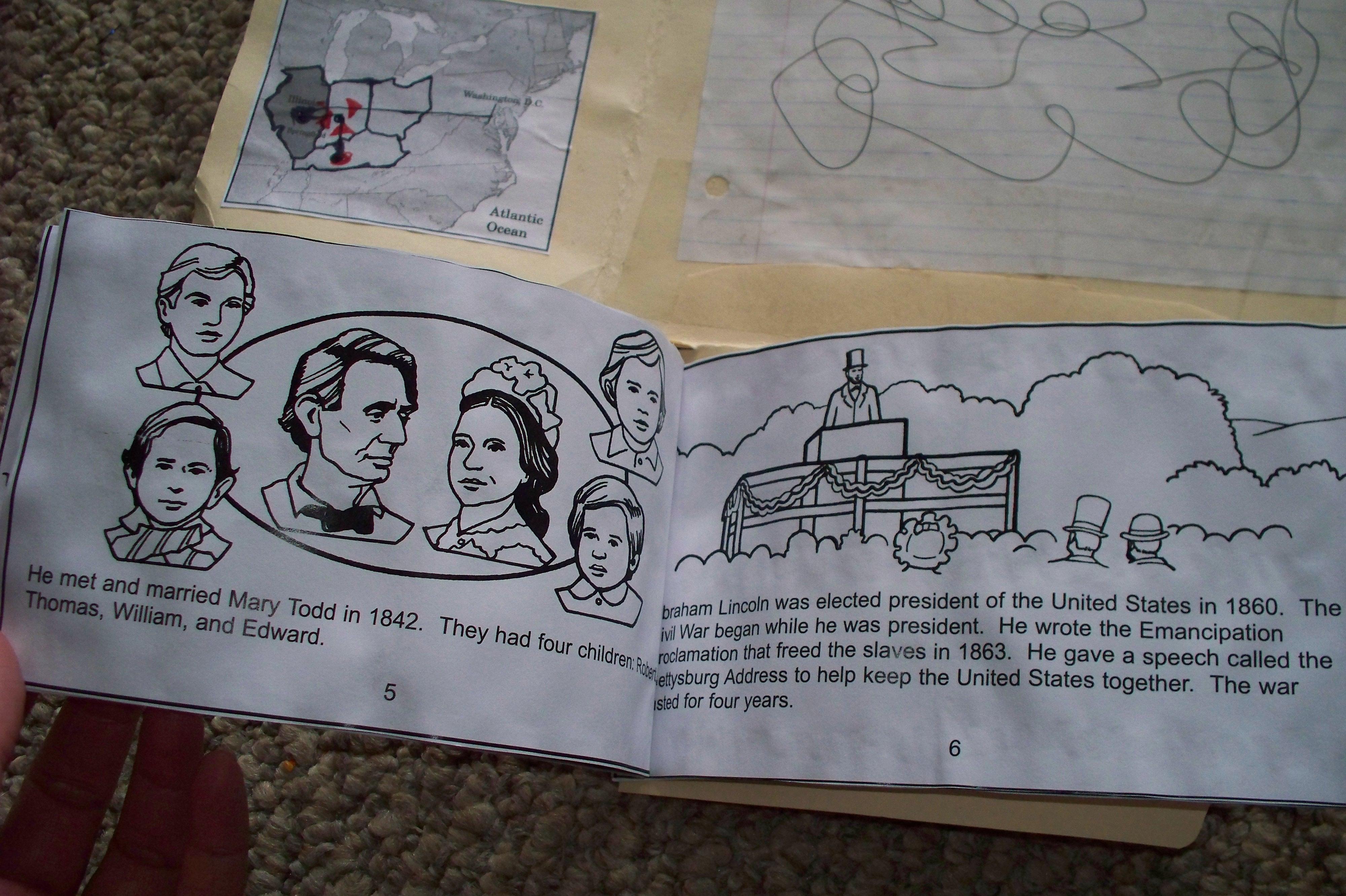 Abraham Lincoln Lapbook
