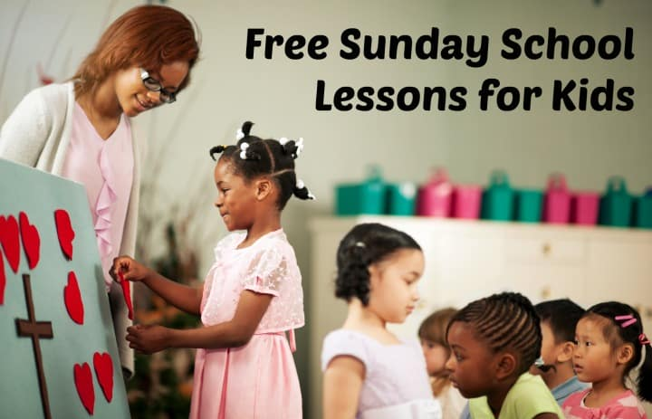 Sunday School Lessons for Kids