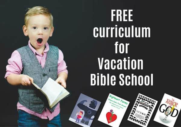 Free Vacation Bible School Curriculum