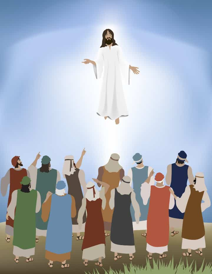 Lesson: Apostles Witness Jesus' Ascension (Acts 1:1-11)
