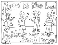 Free Father's Day Coloring Pages — Ministry-To-Children.com
