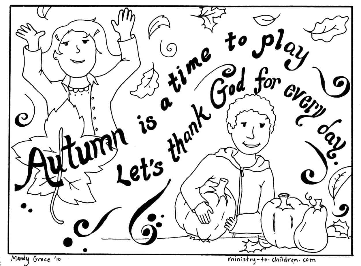 Printable Religious Thanksgiving Coloring Pages - Coloring Home | 924x1252