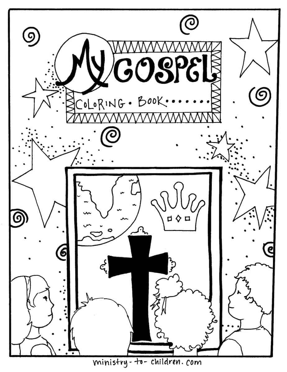 jesus our king Colouring Pages